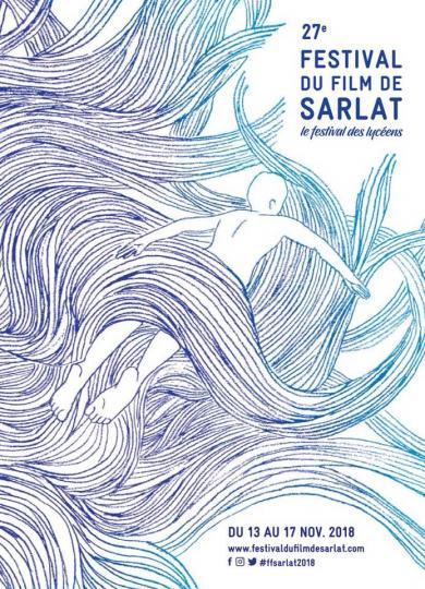 affiche 27 festival du film de sarlat