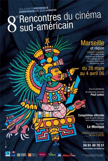 affiche Cinéma d'Amérique du Sud