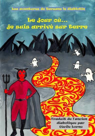 """affiche  [ LIVRE JEUNESSE ] """" Les aventures de Tersane le diablotin """""""