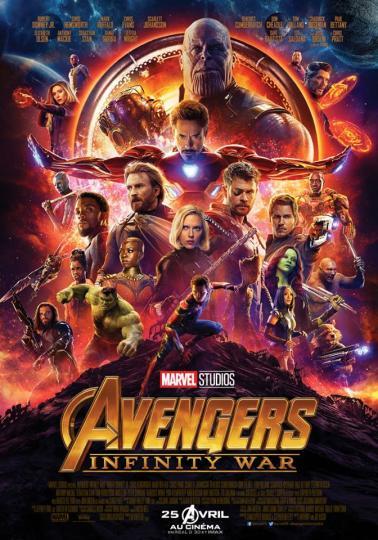 affiche Avengers- Infinity War