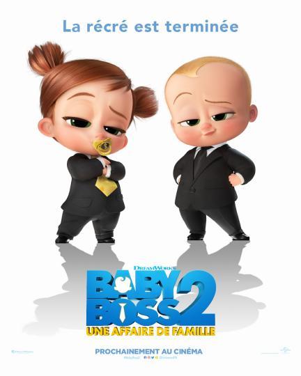 affiche Baby Boss 2 - une affaire de famille