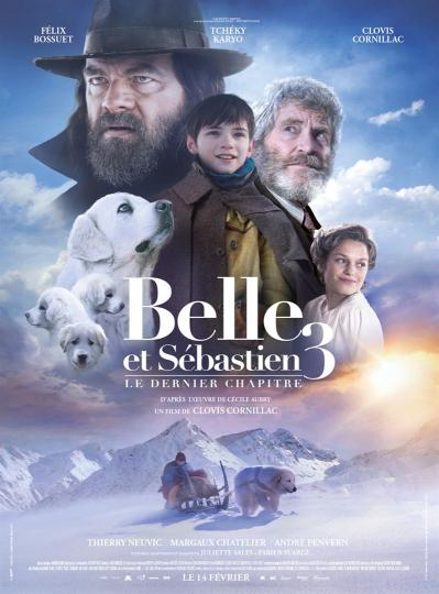 affiche Belle et Sébastien 3 - le dernier chapitre