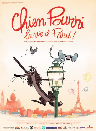affiche Chien Pourri, la vie à Paris !