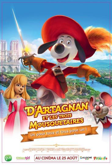 affiche D'Artagnan et les trois Mousquetaires