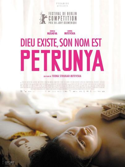 affiche Dieu existe, son nom est Petrunya
