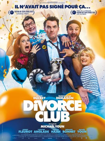 affiche Divorce Club