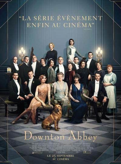 affiche Downton Abbey