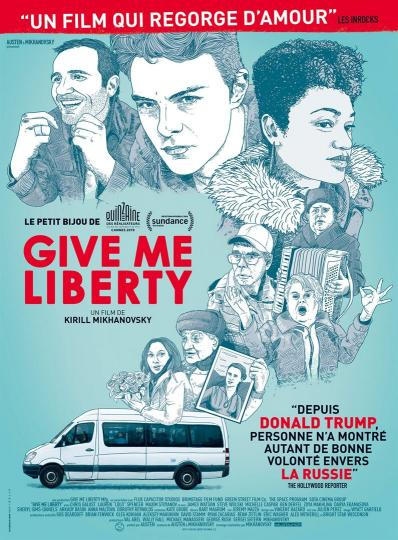 affiche Give Me Liberty