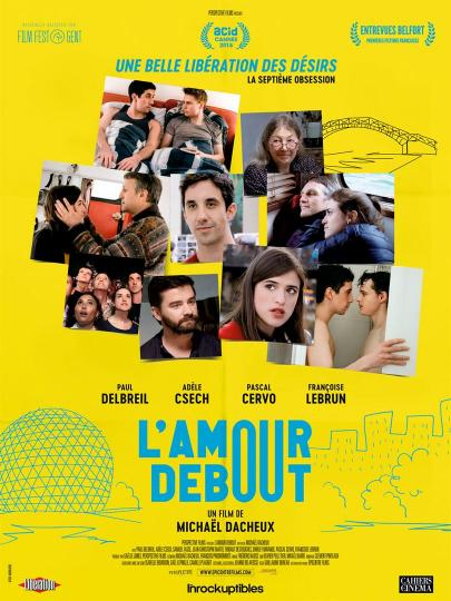 affiche L'amour Debout