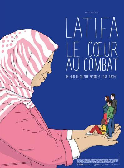 affiche Latifa le cœur au combat