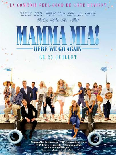 affiche Mamma Mia ! Here we go  again