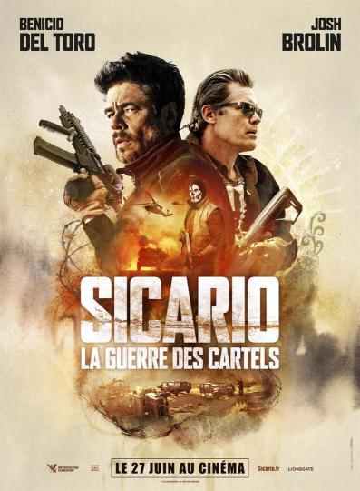 affiche Sicario La Guerre des Cartels