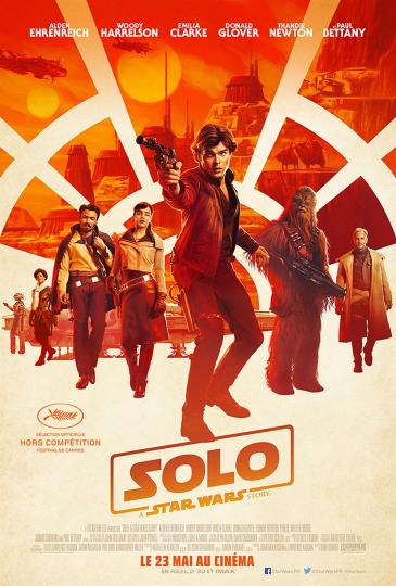 affiche Solo A Star Wars Story