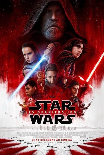 affiche Star Wars - Les Derniers Jedi