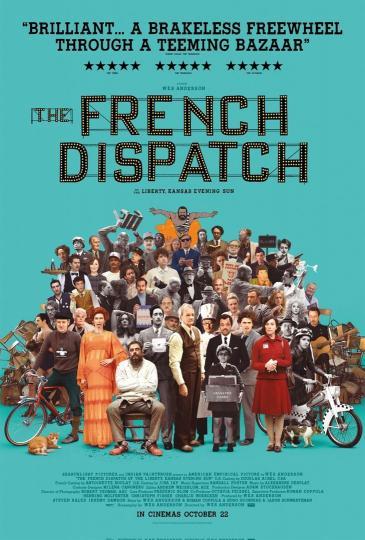 affiche du film The French Dispatch