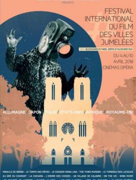 affiche du film Festival International du film des villes Jumelées