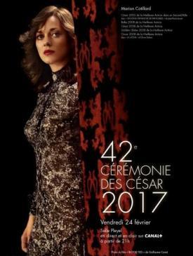 affiche du film Palmarès des César 2017