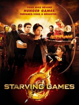 affiche du film STARVING GAMES