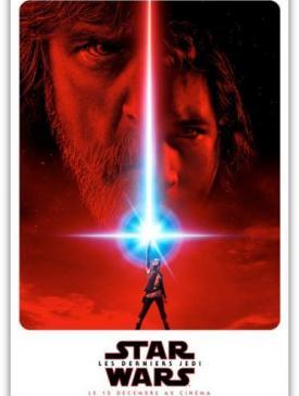 affiche du film Star War Les derniers Jedi