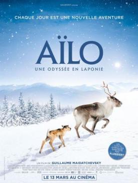 affiche du film Ciné Région Aïlo - une odyssée en Laponie 1