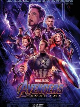 affiche du film Avengers- Endgame
