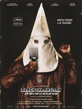 affiche du film BlacKkKlansman