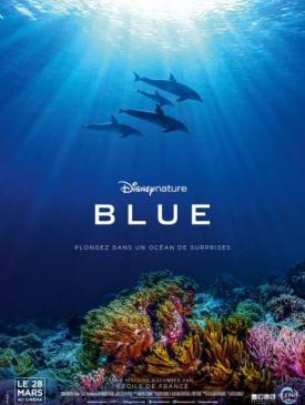 affiche du film Blue