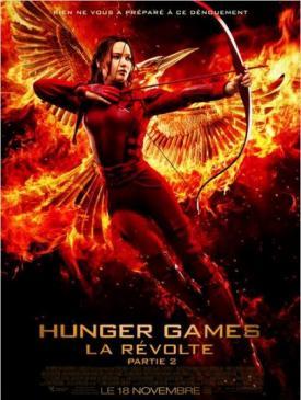 affiche du film Hunger Games : La Révolte, partie 2