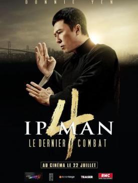 affiche du film Ip Man 4 le dernier combat