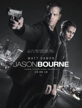 affiche du film Jason Bourne