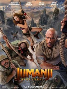 affiche du film Jumanji next level
