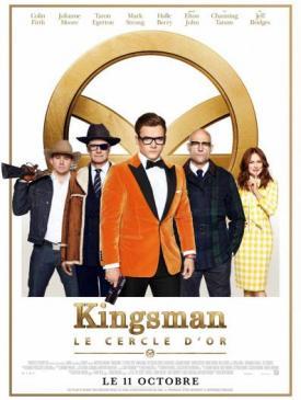 affiche du film Kingsman - Le Cercle d'or