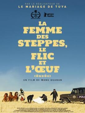 affiche du film La Femme des steppes, le flic et l'œuf