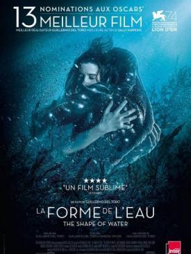 affiche du film La Forme de l'eau