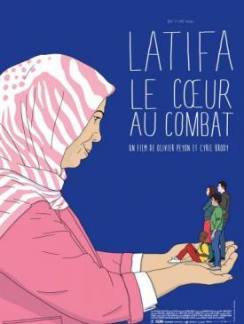 affiche du film Latifa le cœur au combat