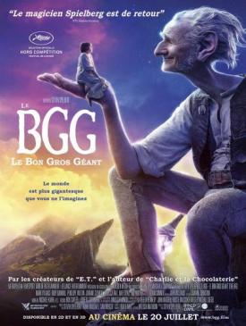 affiche du film Le BGG – Le Bon Gros Géant