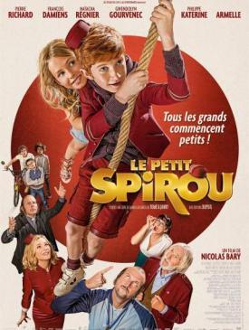 affiche du film Le petit Spirou