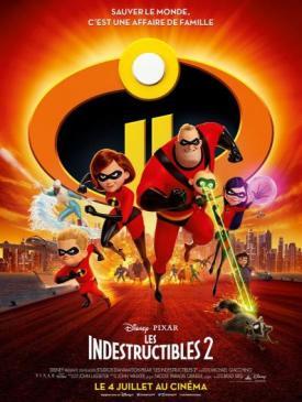 affiche du film Les Indestructibles 2