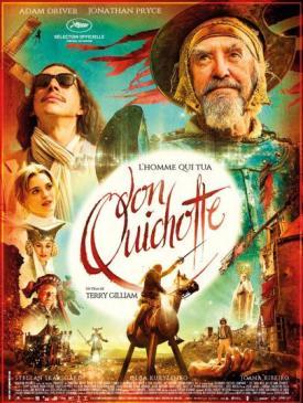 affiche du film L'homme qui tua Don Quichotte