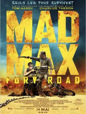 affiche du film Mad Max: Fury Road