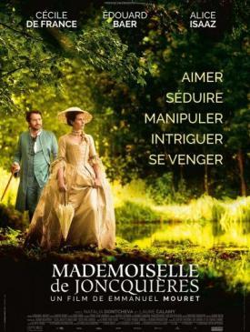 affiche du film Mademoiselle de Joncquières