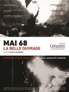 affiche du film Mai 68, la belle ouvrage