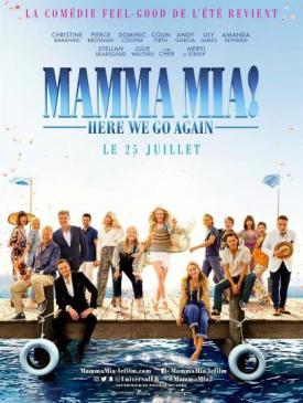 affiche du film Mamma Mia ! Here we go  again