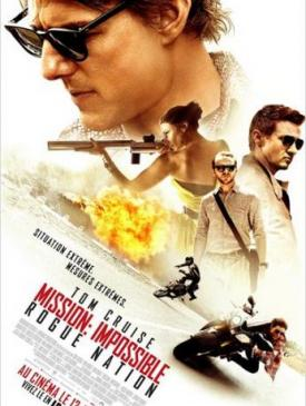affiche du film Mission Impossible  Rogue Nation