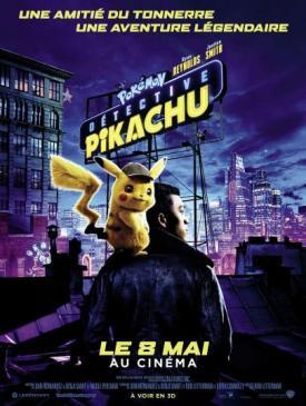 affiche du film Pokémon Détective Pikachu