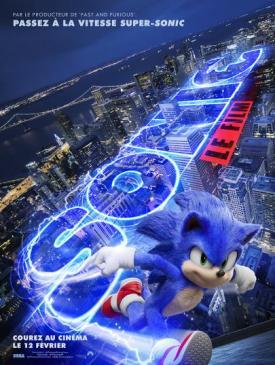 affiche du film Sonic le film