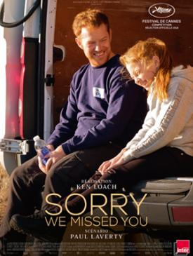 affiche du film Sorry We Missed You