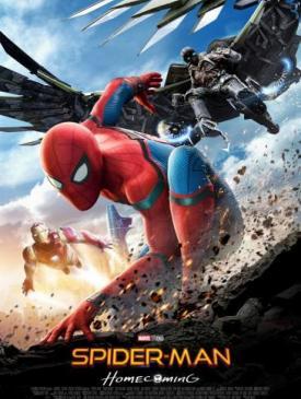 affiche du film Spider-Man Homecoming