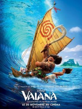 affiche du film Vaiana la légende du bout du monde