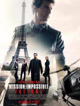 affiche du film Mission Impossible Fallout